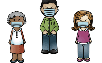 Free resource for children about people wearing masks