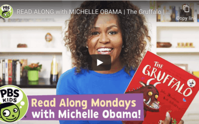 Monday storytime with Michelle Obama